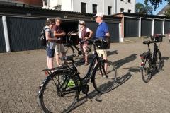 Sammeln zur Radtour
