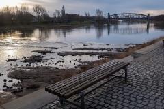 Elbe am Morgen